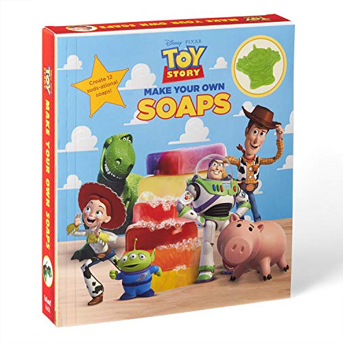 Make Your Own Toy Story Soaps: Create 12 suds-ational soaps!