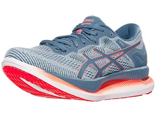 ASICS Zapatillas de running Glideride para mujer, gris (polar shade/gris (polar shade/grey floss)), 39.5 EU