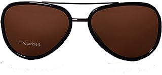 نظارة شمسية بجسر مزدوج للجنسين من بادوفا، 931، C4، - لون بني و ذهبي