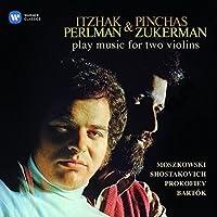 Moszkowski / Shostakovich / Prokofiev by Itzhak Perlman (2015-11-04)