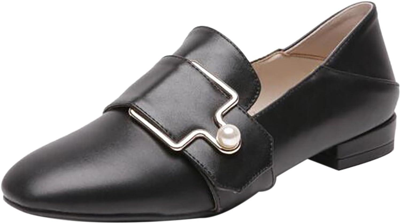 KemeKiss Women Closed Toe Loafers shoes Low Heels