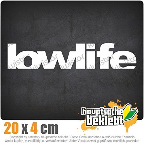 KIWISTAR Lowlife - Bad Person - Low Standarts IN 15 Farben - Neon + Chrom! Sticker Aufkleber