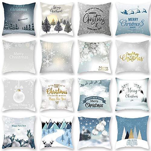 SDJ kussensloop, Kerstmis, Noors, Kerstmis, vierkant, zonder kussen, kleur: 19 x Mas15 (13), maat: 45 x 45 cm 45 * 45cm 19 * Mas15 (1)