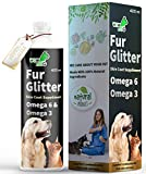 WOW DOG Fur Glitter Dog Hair Fall Control & Skin Coat Disease Solution with Concentrated Fatty Acids...