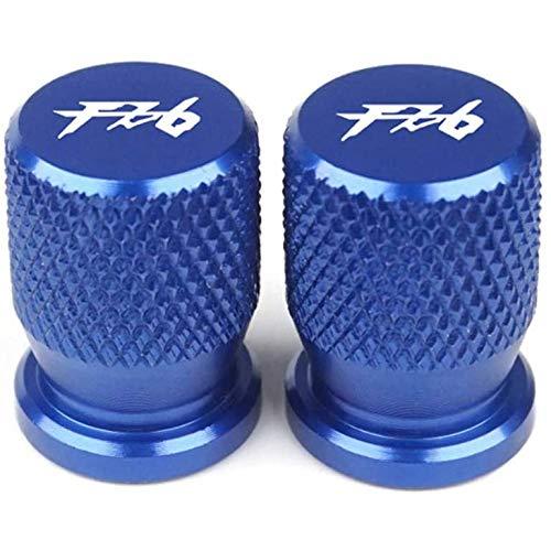 HZYDD Coche Tapas VáLvula NeumáTico,para Yamaha FZ1 FZ6 FZ8 FAZER Cubierta Polvo Aluminio AleacióN Corroe Resistentes contra Suciedad Sellado Evitar Air Fuga AutomóVile Rueda Accesorios