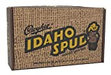 Idaho Spud Candy Bars 12 pack in Collectible Gift Box that resembles a carton of potatoes. Personalized gift card option available at checkout.