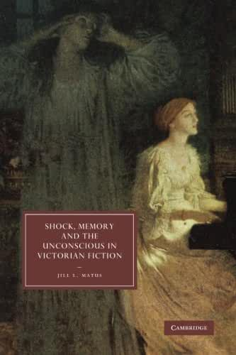 Shock, Memory and the Unconscious in Victorian Fiction