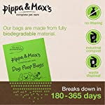Pippa & Max Dog Poo Bags Biodegradable (300) - Extra Strong Eco Doggy Walking Poop Bags 9