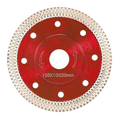 Cirkelzagen 105/115/125mm Wave Diamantzaagblad voor Porseleinen Tegel Keramisch Droog Snijden Agressieve Schijf Marmeren Graniet Steen Saw Blade Metaal-Snijzagen