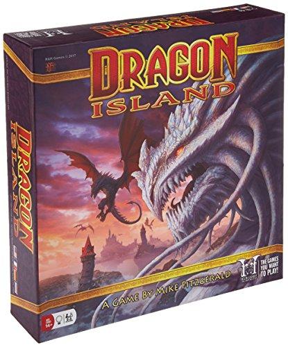 Rnr Games- Dragon Island Juegos de Mesa, Multicolor (350)