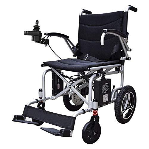 Y-L Oudere mensen met een handicap nieuwe, lichte, opvouwbare elektrische rolstoel gemotoriseerde scooter, intelligente, volautomatische, opvouwbare, ouderen, superlichte rolstoel, goud