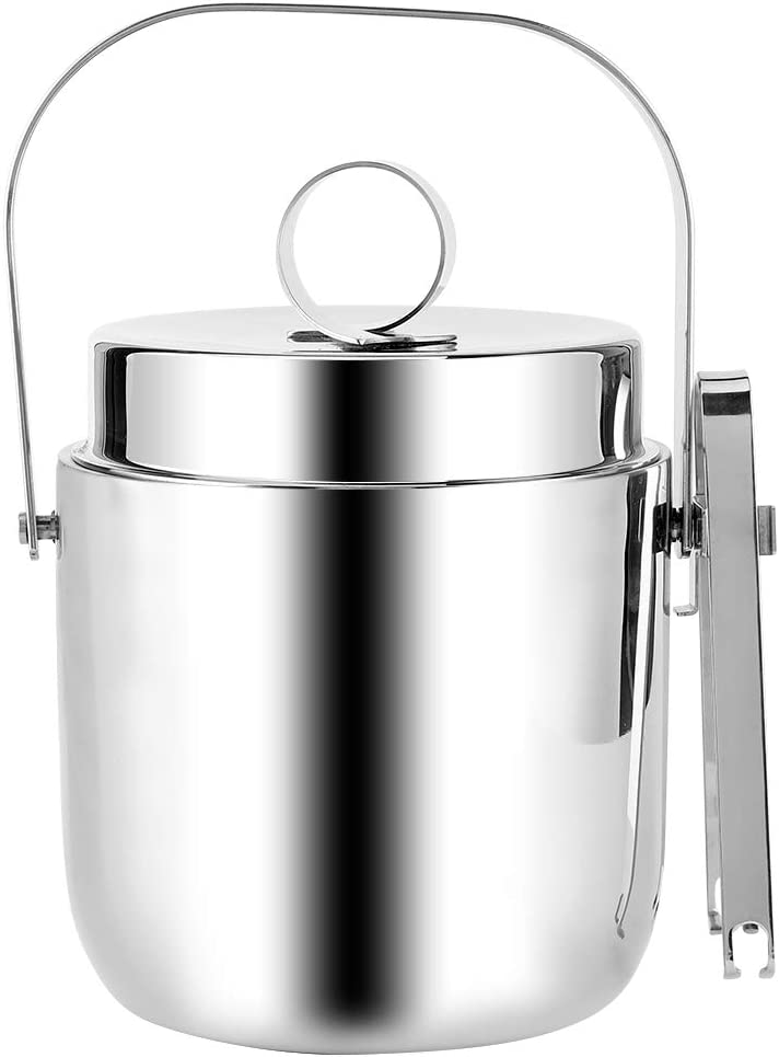 Stainless Philadelphia Mall Steel Double Walled SALENEW very popular! Ice Champagne Containe Wine Bucket