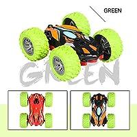Zenghh スタントカーの高速車をクライミングドリフト車オフロード車ウォールクライミングドライビングカーリモートコントロールカー電気アマチュアレーシングモデルカーのおもちゃRC 360°の回転をダブル両面 (Color : A)