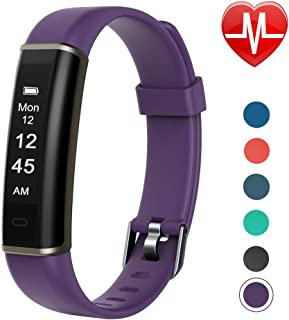 Letsfit Fitness Tracker with Heart Rate Monitor, Pedometer Watch, Waterproof Smart Watch Activity Tracker with Step Counter, Sleep Monitor, Step Tracker for Kids Women and Men