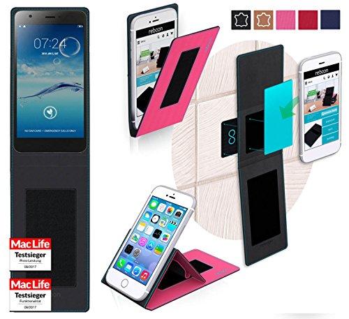 Hülle für Jiayu S3 Tasche Cover Hülle Bumper | Pink | Testsieger