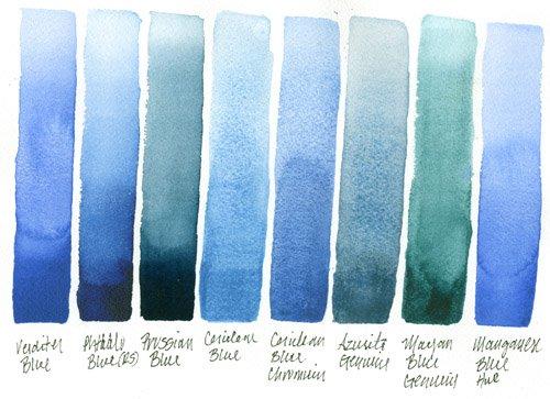 DANIEL SMITH Extra Fine Watercolor 15ml Paint Tube, Cerulean Blue Chromium