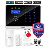 ERAY WM3FX Sistema de Alarma WiFi + gsm/ 3G, Alarmas para Casa,...