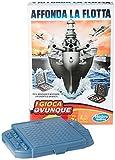 Hasbro Gaming - Hundir la Flota, Juego de Viaje (versión en Italiano)
