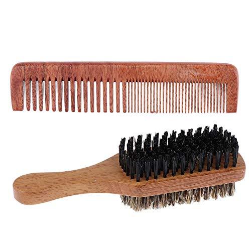 Peine 2 pieza de bolsillo madera peine Grobholz peine peine rizos peine Strähnenkamm peine del pelo