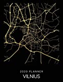 2020 Planner Vilnius: Weekly - Dated With To Do Notes And Inspirational Quotes - Vilnius - Lithuania (City Map Calendar Diary Book)