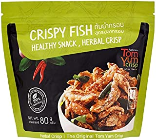 Tom Yum Crisp with Cashew Nuts & Fish with Herbal Crisp 80 G.