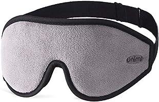 Unimi Eye Mask for Sleeping - 3D Comfort Soft Sleep Mask Men Women - Block Out Light 100% Eye Shade Cover - Adjustable...