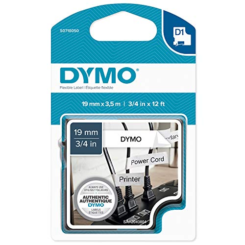 Dymo Tape D1 Flexible Nylon 19mm x 3,5m Tape flexibel Type D1 (S0718050)
