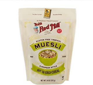 Bob's Red Mill European Style New Torpical Muesli 14oz, 1 Pack (1 Pack)