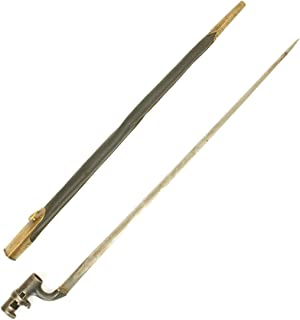 Original British Martini-Henry Rifle P-1876 Socket Bayonet with Nepalese Scabbard