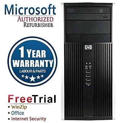 HP 16VFHPDT00 Business Tower Desktop Computer (Intel Core i5 3470 3.2G,8G DDR3,DVD,Windows 10 Professional) , Black