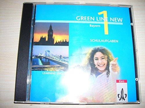 Green Line NEW. Schulaufgaben auf CD-ROM - Band 1. 5. Schuljahr. Bayern.  (Lernmaterialien)
