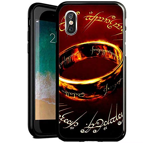 RY Funda para teléfono iPhone 6/iPhone 6S,Prueba Golpes Resistente arañazos Negro Cristal...
