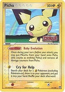 Pokemon - Pichu (21) - EX Power Keepers - Reverse Holofoil