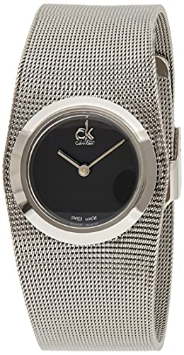 Calvin Klein Orologio Analogico Quarzo Donna con Cinturino in Acciaio Inox K3T23121