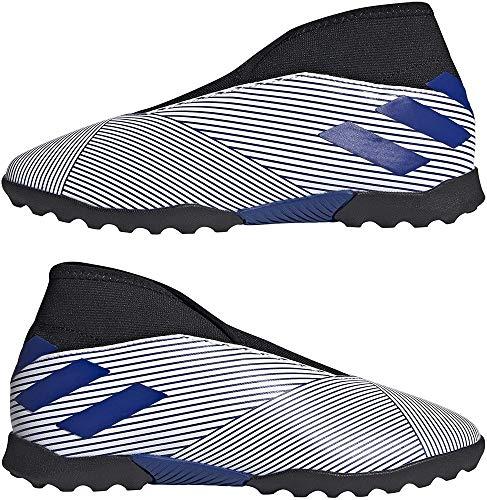 Adidas Nemeziz 19.3 LL TF J, Zapatillas Deportivas Fútbol Unisex Infantil, Azul (FTWR White/Team Royal Blue/Team Royal Blue), 31.5 EU