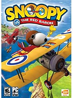 snoopy red baron video game