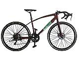 Helliot Bikes Ruzafa 02, Bicicletta Unisex-Adult, Verde, Taglia Unica