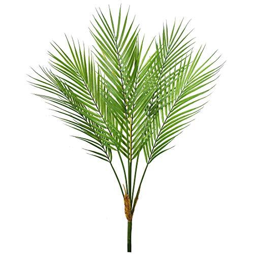 Bird Fiy - Planta artificial de hojas de palmera, diseño de palmeras tropicales falsas, palmeras para decoración de casa, fiesta de boda