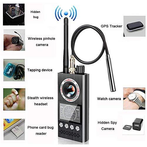 Anti-Spy RF Detektor Wireless Bug Detector Signal für versteckte Kamera Laser Objektiv GSM Hörgerät Gerät Finder Radar Radio Scanner Wireless Signal Alarm