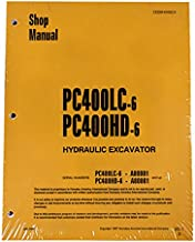 Komatsu PC400LC-6, PC400HD-6 Excavator Workshop Repair Service Manual - Part Number # CEBD4006C3