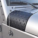 Xapahy Cowl Body Armor Housse de protection latérale pour capot de moteur, accessoire extérieur de voiture pour Jeep Wrangler