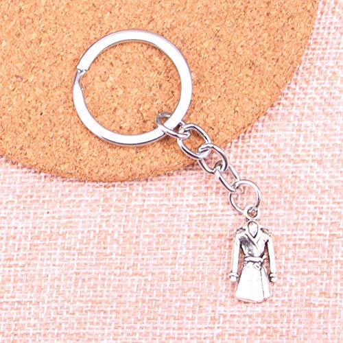 TAOZIAA overjas jas trenchcoat bedeltje hanger sleutelhanger sleutelhanger ketting accessoires sieraden