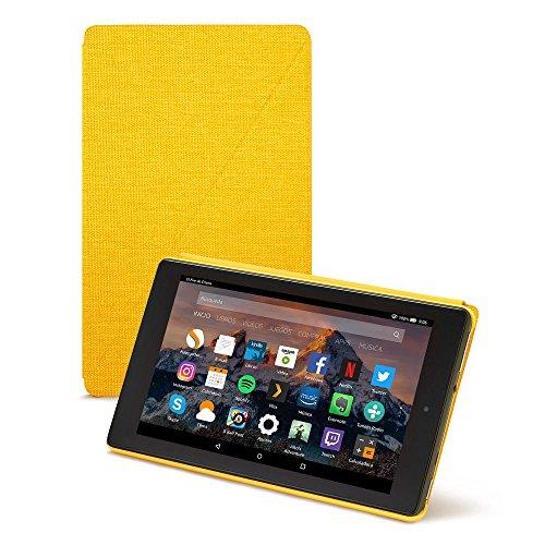 Amazon - Funda para Fire HD 8 (tablet de 8 pulgadas, 7ª y 8ª generación, modelos de 2017 y 2018), Amarillo