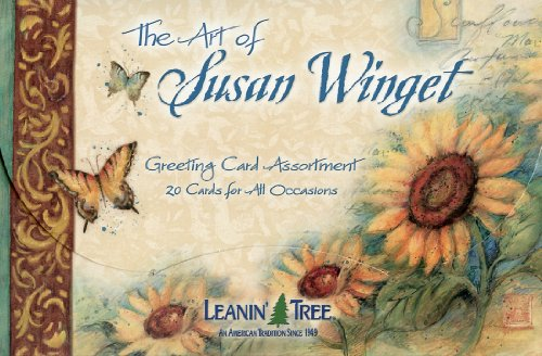 The Art of Susan Winget - 20 cards with full-color interiors and 22 designed envelopes by Leanin' Tree