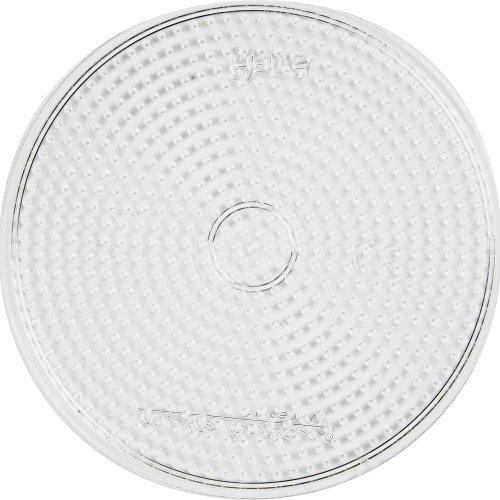 Hama Midi Stiftplatte transparent 15cm rund Kreis (221)