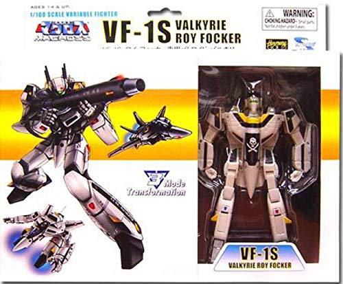 Robotech Macross Toynami 5 Inch 1/100 Scale Fully Transformable Roy Focker's ...
