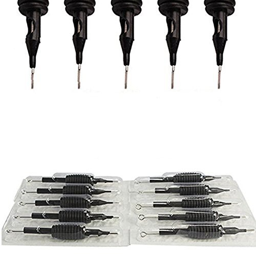10 *Puntas/Agujas Desechables de Tatuaje Tattoo Needle set 3,5,7,9RL/ RS/ M1