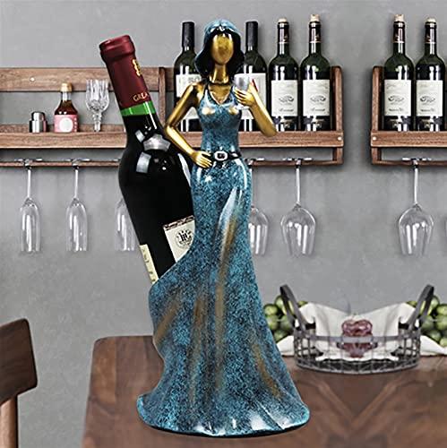 Estantería de vino Azul Rojo...