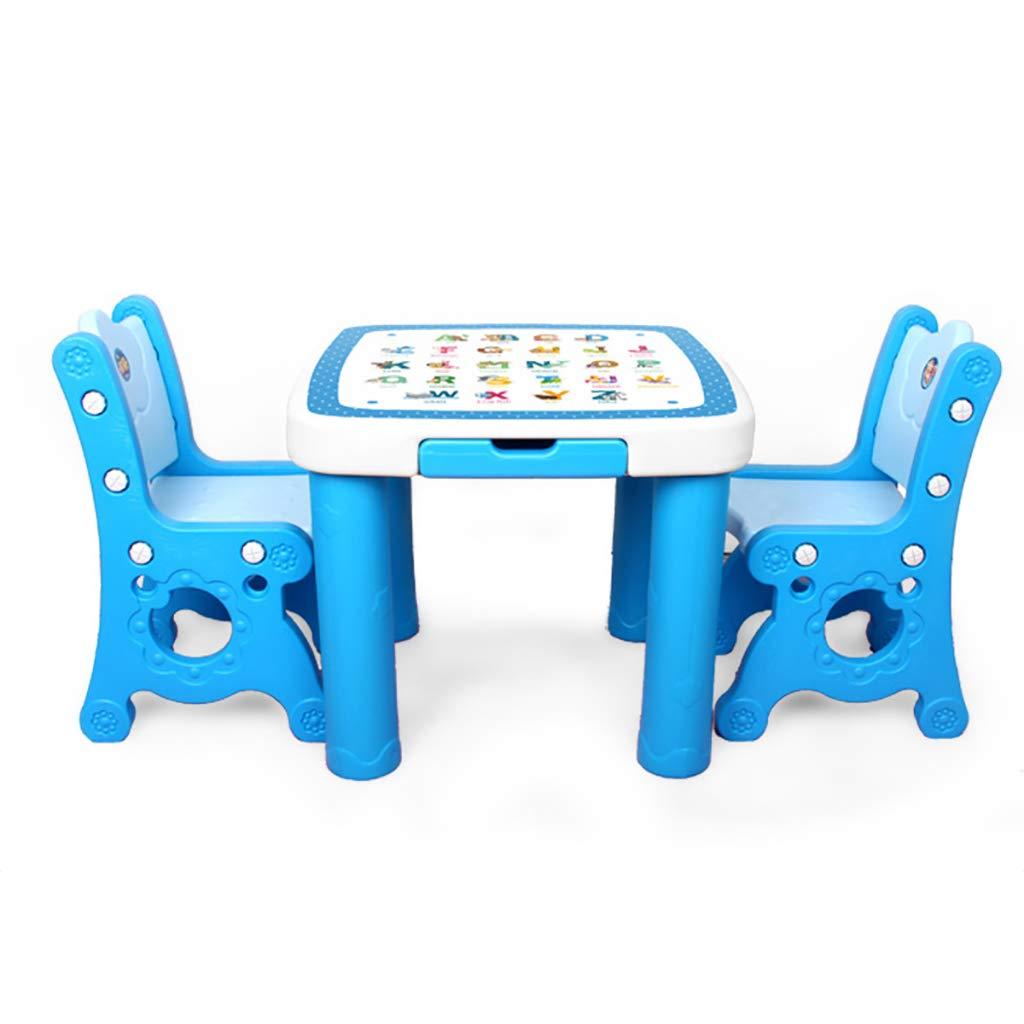 Children Desk Juego De Mesa Y Sillas De Actividades para Niños Cartas para Niños Muebles De