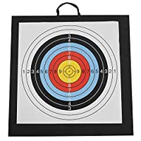Jarhit アーチェリーターゲット屋外弓と矢Evaターゲット50 X 50 X 6Cm